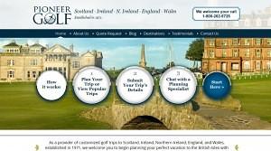 pioneer_golf_website